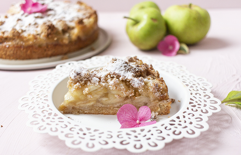Apfel Vanille Streuselkuchen Low Carb Zuckerfrei Low Carb